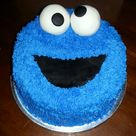 Cookie Monster Cakes
