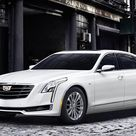 Download wallpapers Cadillac CT6, 2018, Plug In Hybrid, white luxury sedan, business class, white CT6, American cars, photoshoot, Cadillac besthqwallpapers.com