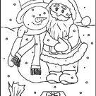 Malvorlagen zu Weihnachten | Kostenlos Ausmalbilder für Kinder