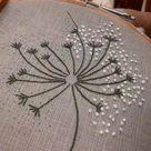 How to stitch Dandelion - Step by Step Tutorial
