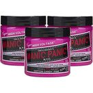 Manic Panic Cotton Candy Pink Hair Color Cream 3 Pack Classic High Voltage Semi Permanent Hair Dye   Vivid, Pink Shade For Dark Light Hair   Vegan,