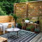 Enchanting terraces – ideas for decorating with style   Home Decor   Backyard, Budget backyard, Backyard design