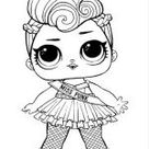 LOL dolls coloring pages. Free Printable LOL dolls coloring pages.