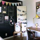 Chalkboard Wall Bedroom