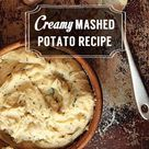 Recipe For Mashed Potatoes