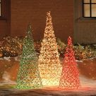 Outdoor Christmas Trees