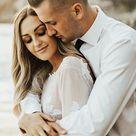 Charming Bateau Lace Long Sleeves Beach Wedding Dress WD436