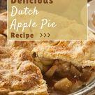 The Best Dutch Apple Pie Recipe