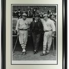 Ready to Play Babe Ruth & Jack Bentley Framed Historical Archive LE 17x22 Giclee