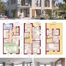 Modernes Doppelhaus CELEBRATION 139 V7 XL     HausbauDirekt.de