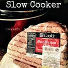Cooking Ham