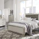 Lonnix Queen Bedroom Set - Bed Dresser Mirror Nightstand & Chest