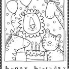 August FREE Downloadable Coloring Pages!