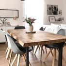 Eiffel Inspired White and Dark Grey Dining Chair with Square Pyramid Light Wood Legs