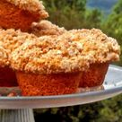 Applesauce Muffins With Cinnamon Crumb Topping