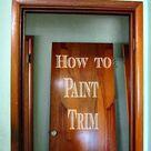 Painting Wood Trim