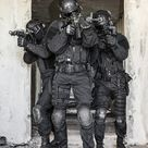 Oficial Swat Com Escudo Balístico