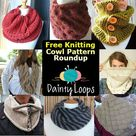 Knitted Cowl Patterns