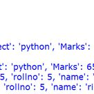 Best Post On Dictionary Datatype In Python - 1 - ITVoyagers