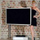 TV Wandhalterung für Dachschrägen - CMB-AngleFlip