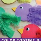 How to Make a Counting & Color Activity for Your Bird Theme