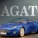 Aston Martin Vanquish Roadster at Zagato HQ