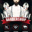 Barbershop PSD Flyer Template #20149