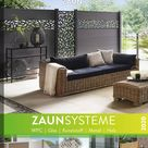 VivaGardea® | Zaun- und Terrassensysteme | Bangkirai, WPC, Accoya, Holz, Glas