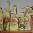 Decoupage Glass