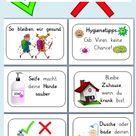 10 Bildkarten zu Hygiene und Gesundheit Coronavirus