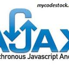 AJAX DATA Sending and Recieving