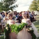 Flower Girl Dress Blush, Flower Girl Dress Ivory, Flower Girl Dress, rustic weddings, stylemepretty.com, flower girl dress pink, tulle dress