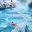 This Hot Springs Waterfall in Italy Is So Dreamy, You'll Think It Came Straight Out of a Fairy Tale