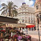 Beautiful streets of Spain's Valencia