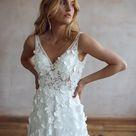 Flora   Lace Wedding Dress   Boho Wedding Dress   Love Spell
