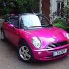 Pink Mini Coopers