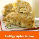 Fluffige Apfel-Scones