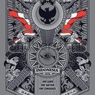Vektor Stok Spirit Garuda Pancasila Illustration (Tanpa Royalti) 1182087610