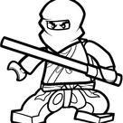 Ninjago kleurplaten, Kleurplaten Ninjago, Kleurplaat Ninjago