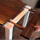 DIY Farmhouse Table with Extension Leaves (with Plans!) - Sweet Tooth Sweet Life