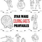 Star Wars Printables - FREE Coloring Pages
