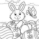 Easter - Free printable coloring pages - Preschool - worksheets - Uskrs - Bojanke za printanje - radni listovi - BonTon TV - Zabavni portal za djecu - Igrice za djecu, pjesme i pjesmice za djecu, priče i bajke, basne, crtići, bojanke, slikovnice