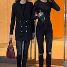 Stella Maxwell dresses down as she gets ready for Victoria's Secret