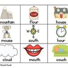 Vowel Diphthongs ou and ow   OUCH