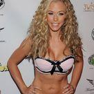 kendra wilkinson in pink short bikini dress