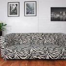 Ikea Klippan sofa Range Covers in Zebra, Giraffe, Cow or Leopard  Faux fur fabric