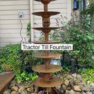 Tractor Till Fountain