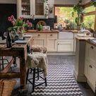 Landelijke keuken met natuurtinten