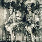 James Edward Abbe Photo the Dolly Sisters Casino de Paris   Etsy