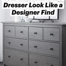 8 Hacks to Make Your IKEA HEMNES Dresser Look Like a Designer Find